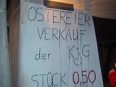 Ostereierverkauf 2006